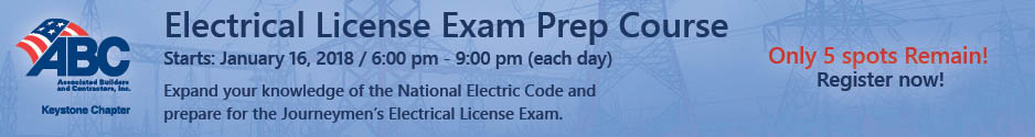 2018 Electrical License Exam prep course