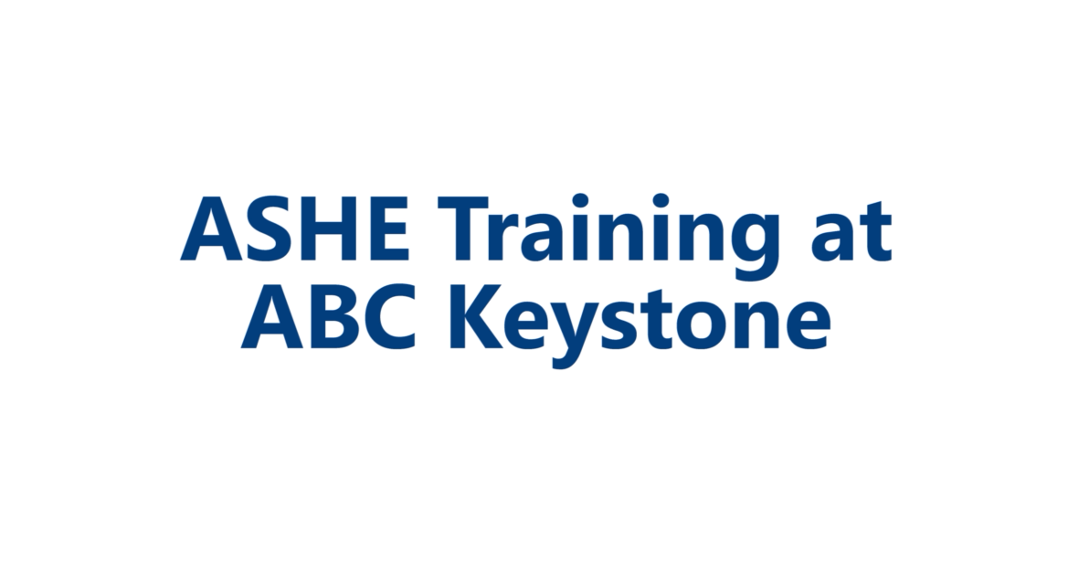 Ashe Healthcare Construction Certificate Workshop Hcc Abc Keystone
