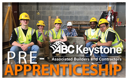 Pre-Apprenticeship at ABC Keystone, Manheim PA