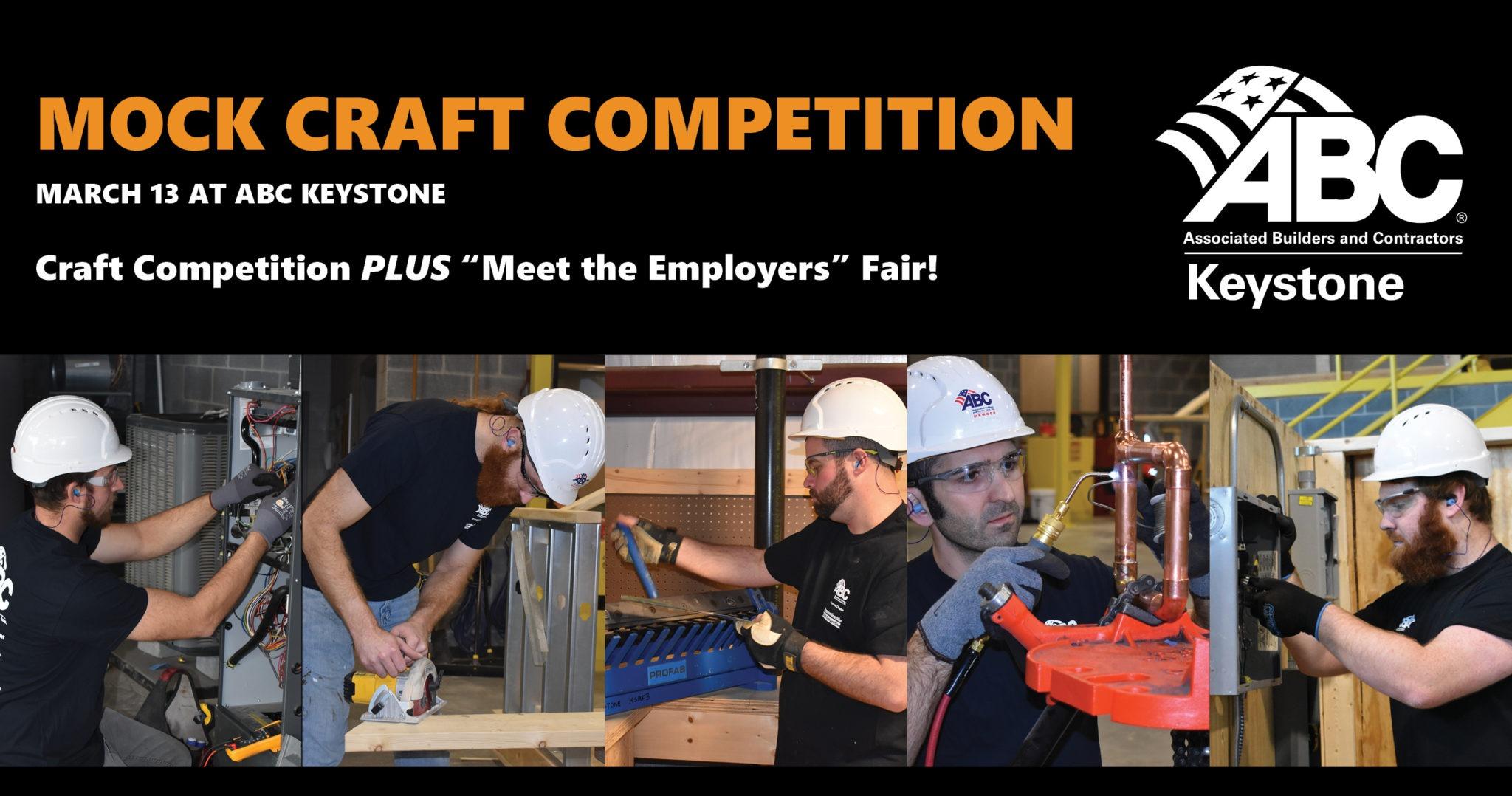 ABC Keystone Mock Craft Competition