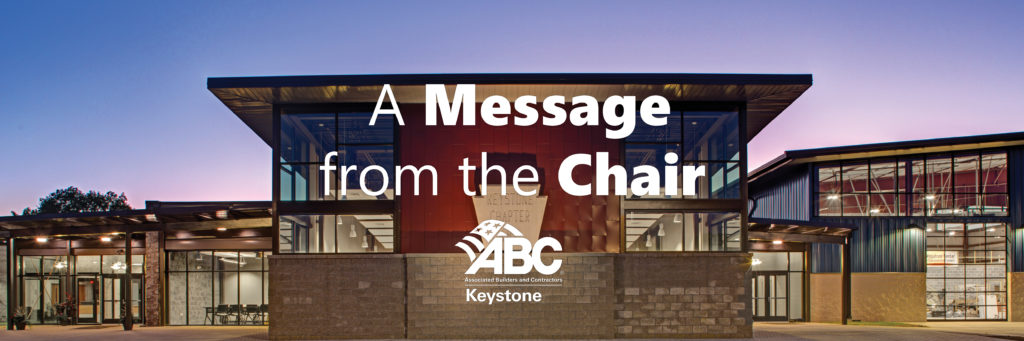 A Message from the ABC Keystone Chair of the Board