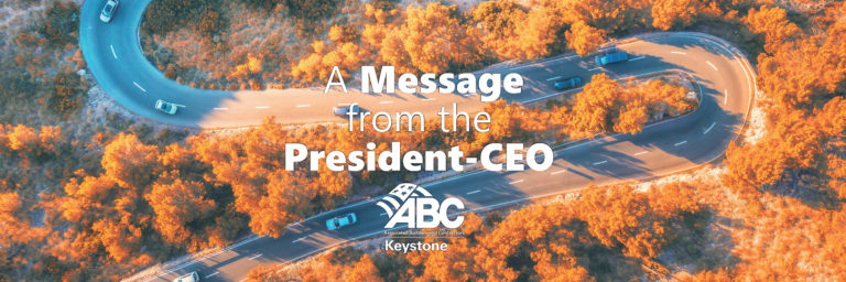 ABC Keystone President Message