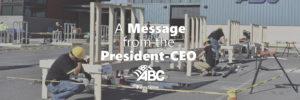 President Message ABC Keystone
