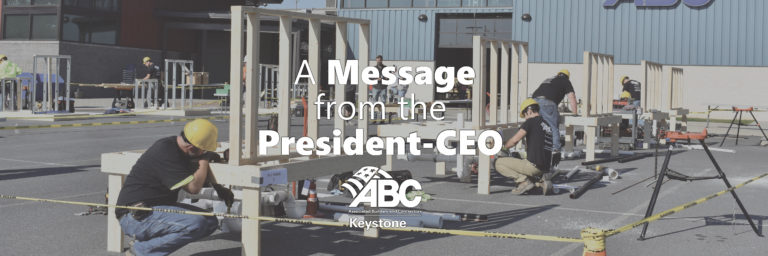 President Message ABC Keystone