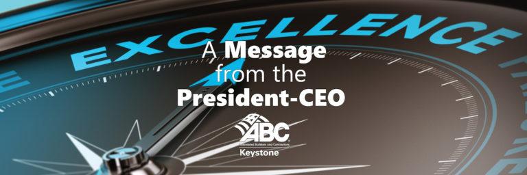 ABC Keystone President Message January 2021