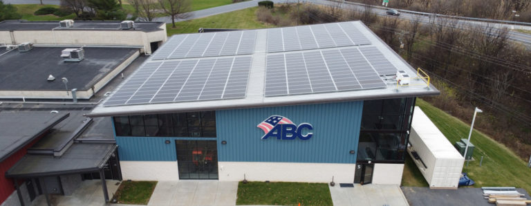 ABC Keystone Installs Solar Array