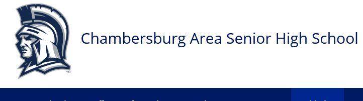 Chambersburg Area Senior High School Homepage