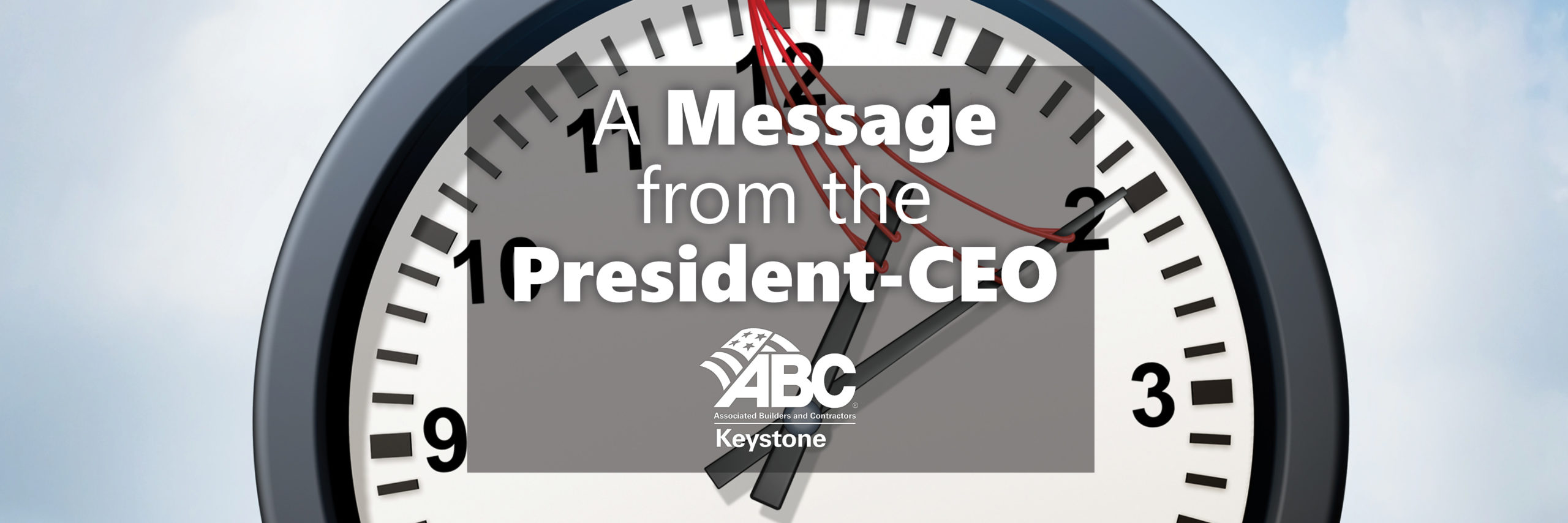 ABC Keystone President Message July 2021