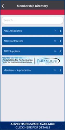 ABC Keystone Mobile App directory
