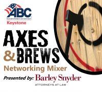 Axes and Brews ABC Keystone